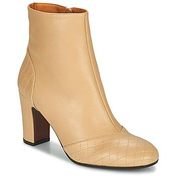 鞋子 女士 短靴 Chie Mihara WAIDA 米色