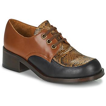 鞋子 女士 皮便鞋 Chie Mihara TUDU 棕色 / 黑色