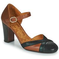 鞋子 女士 高跟鞋 Chie Mihara WABE 驼色 / 黑色