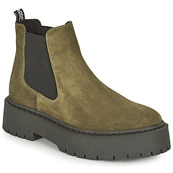 鞋子 女士 短筒靴 Steve Madden 史蒂夫·马登 VEERLY 卡其色