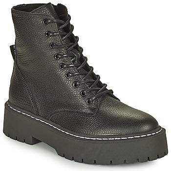 鞋子 女士 短筒靴 Steve Madden 史蒂夫·马登 SKYLAR 黑色