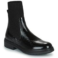 鞋子 女士 短筒靴 Regard CALES 黑色