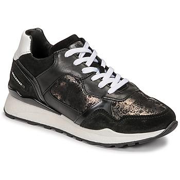 鞋子 女士 球鞋基本款 Bullboxer 939004E5C_BLWH 黑色