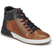 鞋子 男孩 球鞋基本款 Bullboxer AOF506COGN 棕色 / 海蓝色