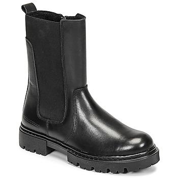 鞋子 女孩 短筒靴 Bullboxer AJS504BLCK 黑色