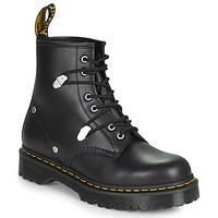 鞋子 女士 短筒靴 Dr Martens 1460 BEX STUD 黑色