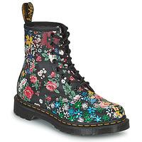 鞋子 女士 短筒靴 Dr Martens 1460 PASCAL 黑色 / 多彩