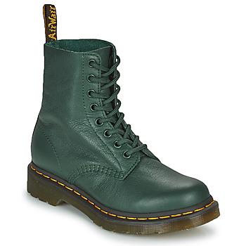 鞋子 女士 短筒靴 Dr Martens 1460 PASCAL 绿色