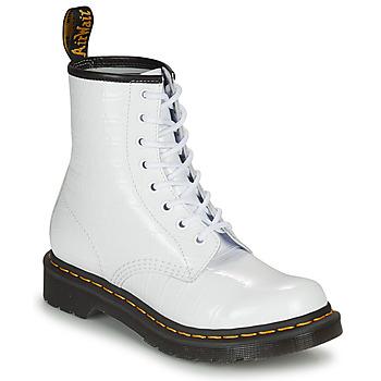 鞋子 女士 短筒靴 Dr Martens 1460 W 白色
