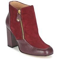 鞋子 女士 短靴 Fericelli CHANTEVO 波尔多红