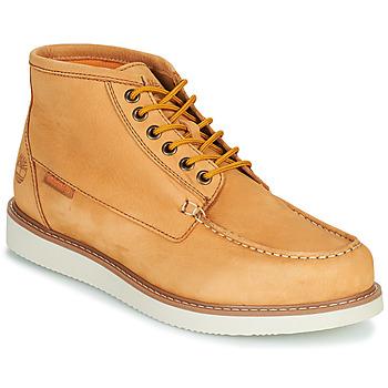 鞋子 男士 短筒靴 Timberland 添柏岚 NEWMARKET II BOAT CHUKKA 黄色
