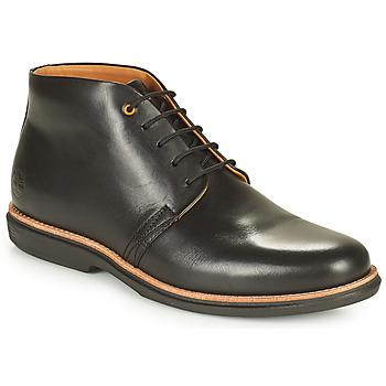 鞋子 男士 短筒靴 Timberland 添柏岚 CITY GROOVE CHUKKA 黑色