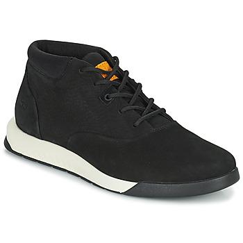 鞋子 男士 高帮鞋 Timberland 添柏岚 NITE FLEX CHUKKA 2 黑色