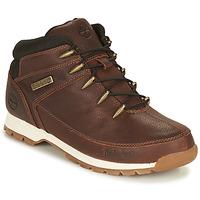 鞋子 男士 短筒靴 Timberland 添柏岚 EURO SPRINT HIKER 棕色