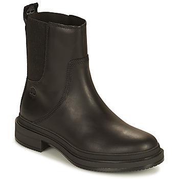 鞋子 女士 短筒靴 Timberland 添柏岚 LISBON LANE CHELSEA 黑色