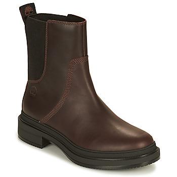 鞋子 女士 短筒靴 Timberland 添柏岚 LISBON LANE CHELSEA 棕色