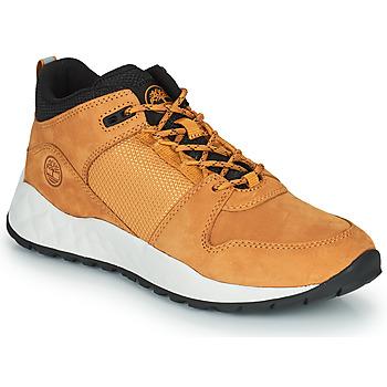 鞋子 儿童 球鞋基本款 Timberland 添柏岚 SOLAR WAVE LOW 黄色