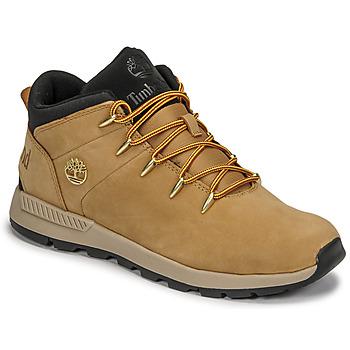 鞋子 儿童 球鞋基本款 Timberland 添柏岚 SPRINT TREKKER MID 黄色