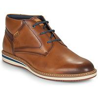 鞋子 男士 短筒靴 Pikolinos 派高雁 AVILA 棕色