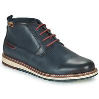 鞋子 男士 短筒靴 Pikolinos 派高雁 BERNA 海蓝色
