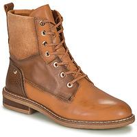 鞋子 女士 短筒靴 Pikolinos 派高雁 ALDAYA 棕色