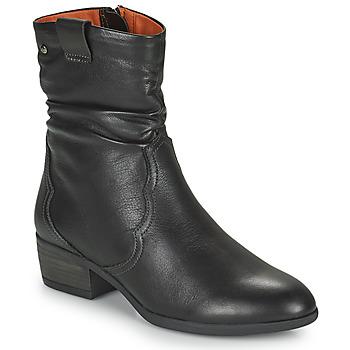 鞋子 女士 短靴 Pikolinos 派高雁 DAROCA 棕色