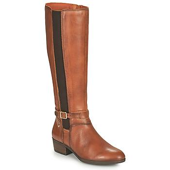 鞋子 女士 都市靴 Pikolinos 派高雁 DAROCA 棕色