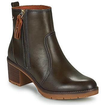 鞋子 女士 短靴 Pikolinos 派高雁 LLANES 灰色