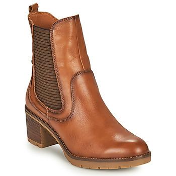 鞋子 女士 短靴 Pikolinos 派高雁 LLANES 棕色
