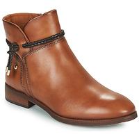 鞋子 女士 短筒靴 Pikolinos 派高雁 ROYAL 棕色