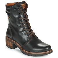 鞋子 女士 短靴 Pikolinos 派高雁 SAN SEBASTIA 黑色