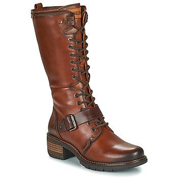 鞋子 女士 都市靴 Pikolinos 派高雁 SAN SEBASTIA 棕色