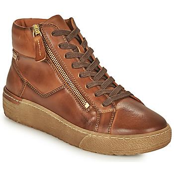 鞋子 女士 高帮鞋 Pikolinos 派高雁 VITORIA 棕色