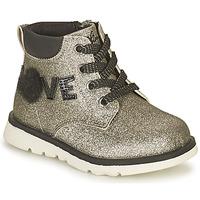 鞋子 女孩 短筒靴 Chicco FLORINA 银灰色
