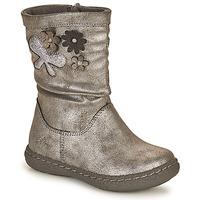 鞋子 女孩 都市靴 Chicco CAROL 银灰色