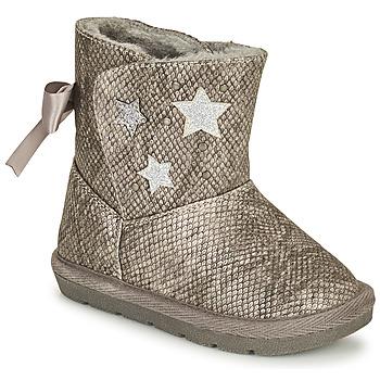 鞋子 女孩 都市靴 Chicco CLOVY 银灰色