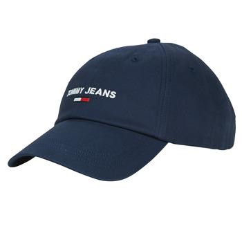 纺织配件 男士 鸭舌帽 Tommy Jeans TJM SPORT CAP 海蓝色