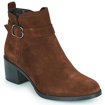 鞋子 女士 短靴 Tamaris OFFICIE 棕色