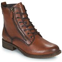 鞋子 女士 短筒靴 Tamaris PEPIR 棕色
