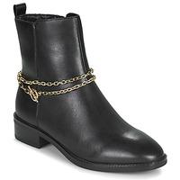 鞋子 女士 短筒靴 Tamaris THOMA 黑色 / 金色