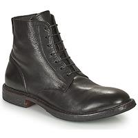 鞋子 男士 短筒靴 Moma MINSK 黑色