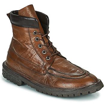 鞋子 男士 短筒靴 Moma COMBAT 棕色