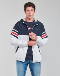 衣服 男士 夹克 Tommy Jeans TJM COLORBLOCK ZIPTHRU 蓝色 / 白色 / 红色