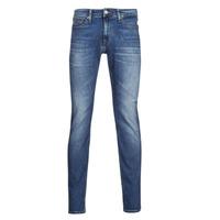 衣服 男士 紧身牛仔裤 Tommy Jeans SCANTON SLIM AE136 MBS 蓝色 / Edium