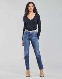 衣服 女士 直筒牛仔裤 Tommy Hilfiger NEW CLASSIC STRAIGHT HW A LEA 蓝色 / Edium