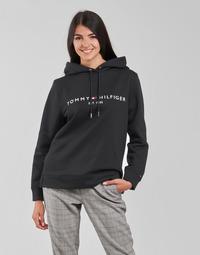 衣服 女士 卫衣 Tommy Hilfiger HERITAGE HILFIGER HOODIE LS 黑色