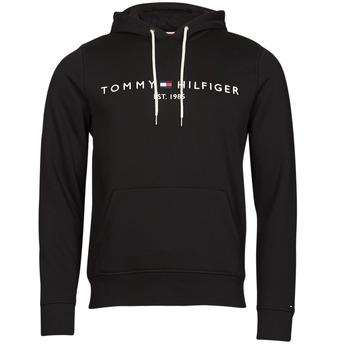 衣服 男士 卫衣 Tommy Hilfiger TOMMY LOGO HOODY 黑色