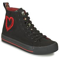 鞋子 女士 高帮鞋 Desigual BETA MILITAR 黑色