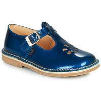 鞋子 女孩 凉鞋 Aster DINGO 蓝色 / 漆皮