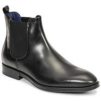 鞋子 男士 短筒靴 Azzaro 阿莎露 SEVILLE 黑色